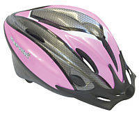 Adults Helmet with Rear Flashing Light - Pink Image