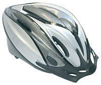 Adults Helmet with Rear Flashing Light - White Image