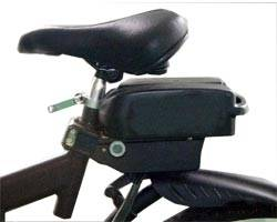 Cyclotricity Battery 36v 7Ah Lithium-Ion Seatpost Mounted Image