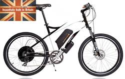 CycloTricity Stealth 1000W Dual Power Electric Bike - 12Ah 17