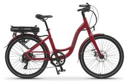 Wisper 705se 2016 Stealth Electric Bike - Red