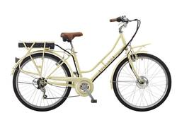 Viking Mayfair Step Through Electric Bike - Cream Image
