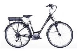 Raleigh Captus Step Through 700c Bosch System Electric Bike Black