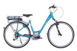 Raleigh Captus Step Through 700c Bosch System Electric Bike Blue