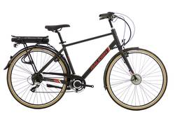 Raleigh Array Cross Bar Emotion Electric Bike Black