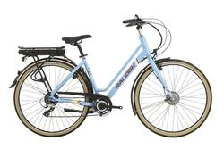Raleigh Array Step Through Emotion Electric Bike Denim Blue