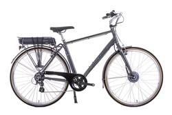 Raleigh Pioneer Cross Bar Electric Bike Grey