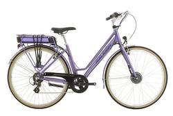 Raleigh Pioneer Step Through Electric Bike Lilac - 26