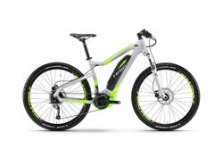 Haibike SDURO 2017 HardSeven 4.0 Electric Mountain Bike Silver Green