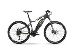 Haibike SDURO 2017 HardSeven 4.0 Electric Mountain Bike Anthracite / White