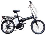 "Byocycle City Speed 20"" Folding Electric Bike Image"