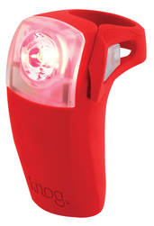 Knog Boomer 1 Watt Rear Light - Red Rear Image