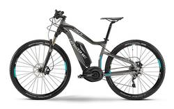Ex Demo. Haibike XDURO Hardnine RC Grey Black Cyan 2015 Electric Bike - 50cm Image