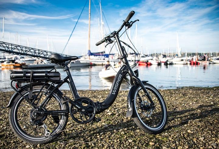 Wisper 806 SE Folding Electric Bike