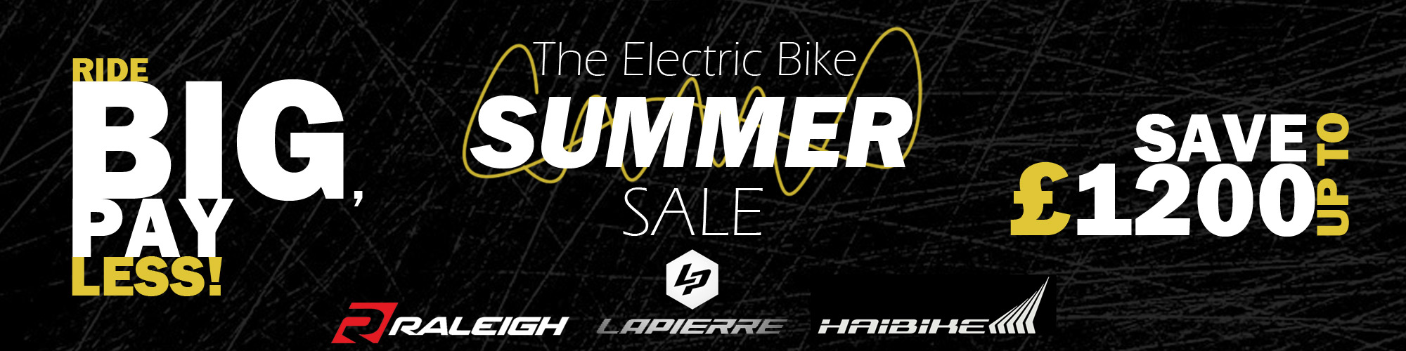 Summer Electric Bike Sale