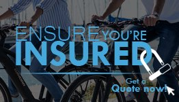 Insure Your Bicycle Today - Get A Free Quote With E-Bikes Direct