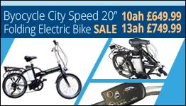 Byocycles City Speed 20 Folding Electric Bike Deal