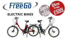 FreeGo Electric Bike Deal Now From £699
