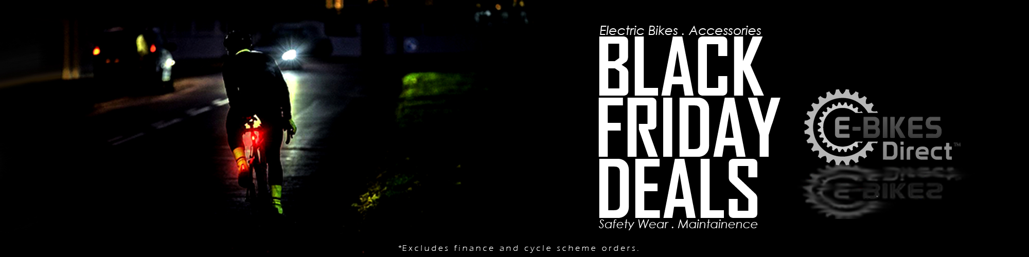 Black Friday Electric Bike Deals at E-Bikes Direct