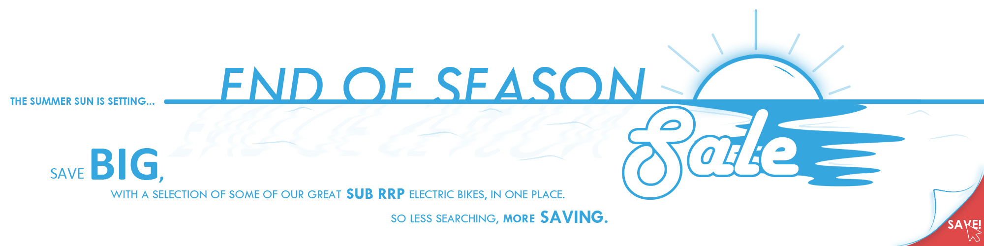 End Of Season Autumn Electric Bike Sale at E-Bikes Direct