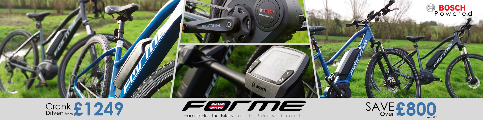 Forme Electric Bikes at E-Bikes Drect