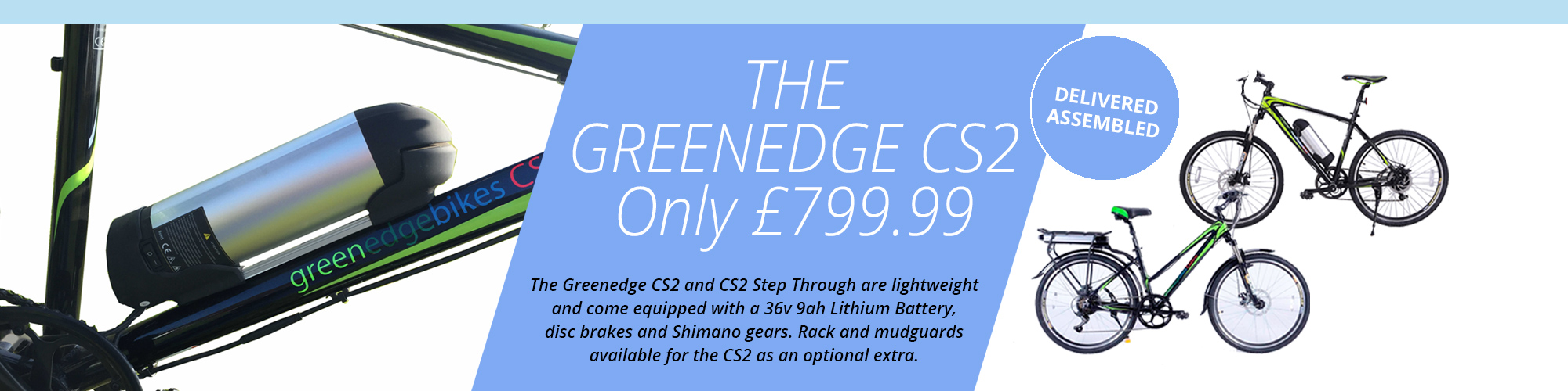 Greenedge CS2 Electric Bike