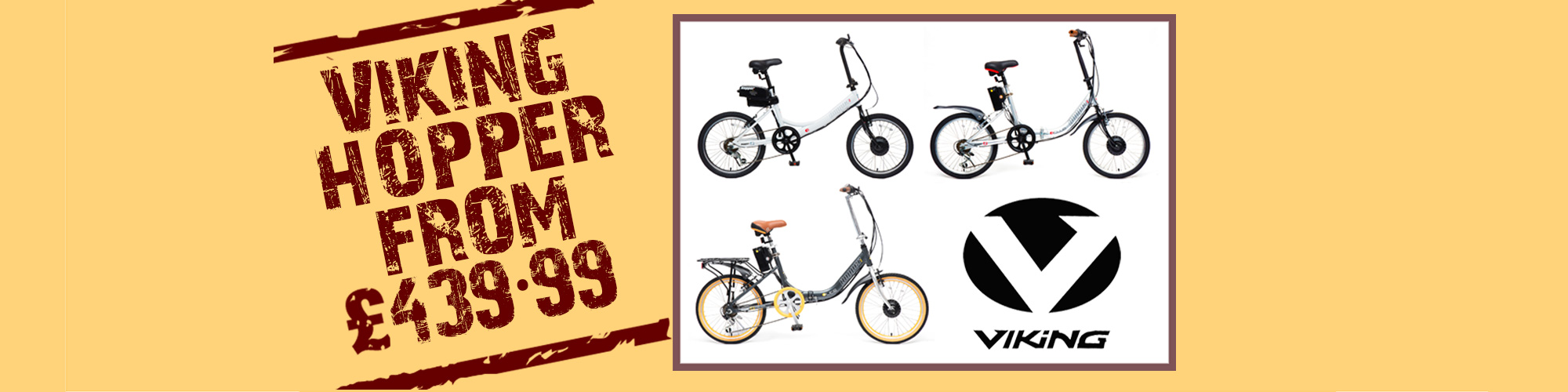 Viking Hopper Electric Bikes from £439.99