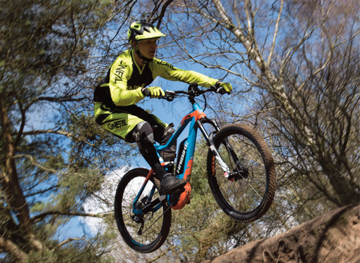 E-Bikes max out with BDS Pro rider Riley Jenner