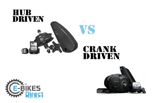 Electric Bikes Hub vs Crank Motor