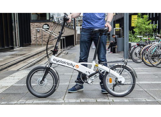E-Bikes Direct working with Cyclotricity