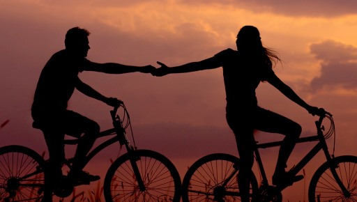 Couples Cycling Together Increased Motivation