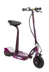 Razor E100S Seated Electric Scooter Purple