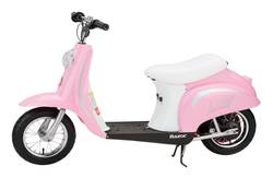 Razor Pocket Mod Electric Ride On Moped Bella Pink Thumbnail