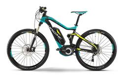 Haibike XDURO FULLSEVEN RC 2015 Turqoise Electric Bike Thumbnail