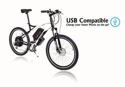11393d45abb CycloTricity Stealth 1000W Dual Power Electric Bike 1 Thumbnail