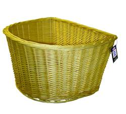 Adie Large D Shaped Wicker Basket
