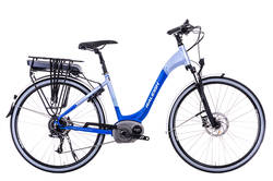 Raleigh Motus Blue Step Through 10 Speed 700c Electric Bike Thumbnail