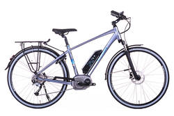 Raleigh Captus Cross Bar Titanium Electric Bike Thumbnail