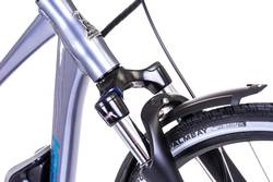 Raleigh Captus Cross Bar Titanium Electric Bike 1 Thumbnail