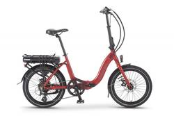 Wisper 806 SE Folding Electric Bike Red Thumbnail