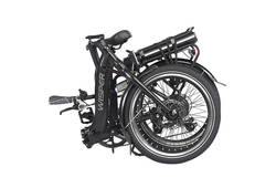 Wisper 806 SE Folding Electric Bike Red 3 Thumbnail