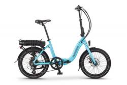 Wisper 806 SE Folding Electric Bike Blue Thumbnail