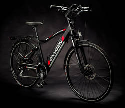 Ex Demo Oxygen S-Cross 10Ah Cross Bar Hybrid Electric Bike Black 3 Thumbnail