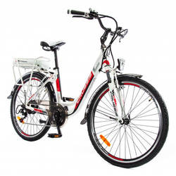 Crussis e-City 1.7 Alloy Step Through Electric Bike 1 Thumbnail