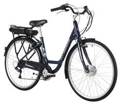 Vitesse Step Through Alloy Frame 6 Speed 8Ah Electric Bike 18