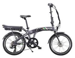 Benelli Fold City Electric Bike Grey Thumbnail