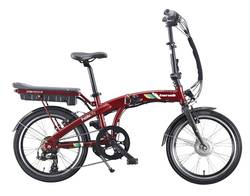 Benelli Fold City Red Electric Bike