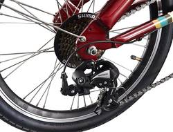 Benelli Fold City Electric Bike Red 5 Thumbnail
