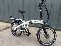 Benelli Fold City Electric Bike White 1 Thumbnail