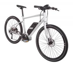 Raleigh Strada Elite Grey Alloy Frame Carbon Forks 11Ah Electric Bike 1 Thumbnail